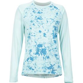 Marmot Crystal Naiset Pitkähihainen paita , turkoosi